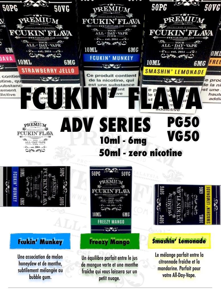 Fcukin Flava France ADV - 6mg 1