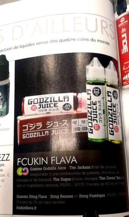 Fcukin Flava France e-cig magazine n°17 1.2