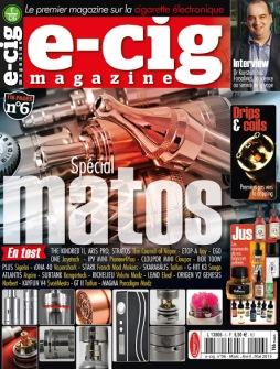 Fcukin Flava France Presse e-cig magazine n°6